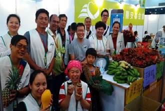 給媽媽顧健康 台中素食展訴健康展在地農產