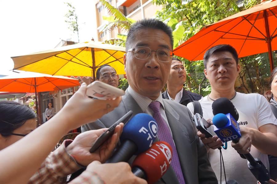 內政部長徐國勇坦承小熊事件事他就任部長來心中最悶的事。(中時資料庫)