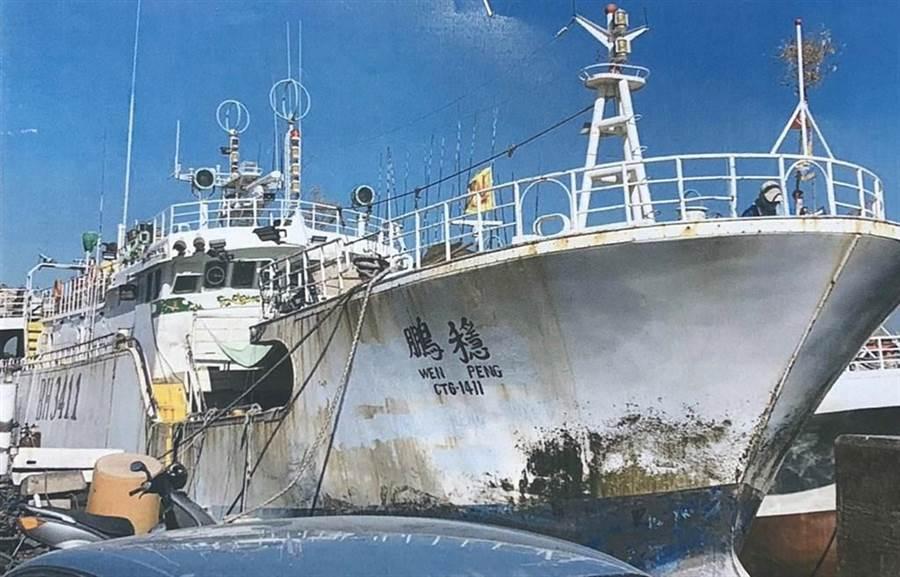「穩鵬號」遠洋喋血案,海巡特勤隊緊急出動營救人質。(中央社)