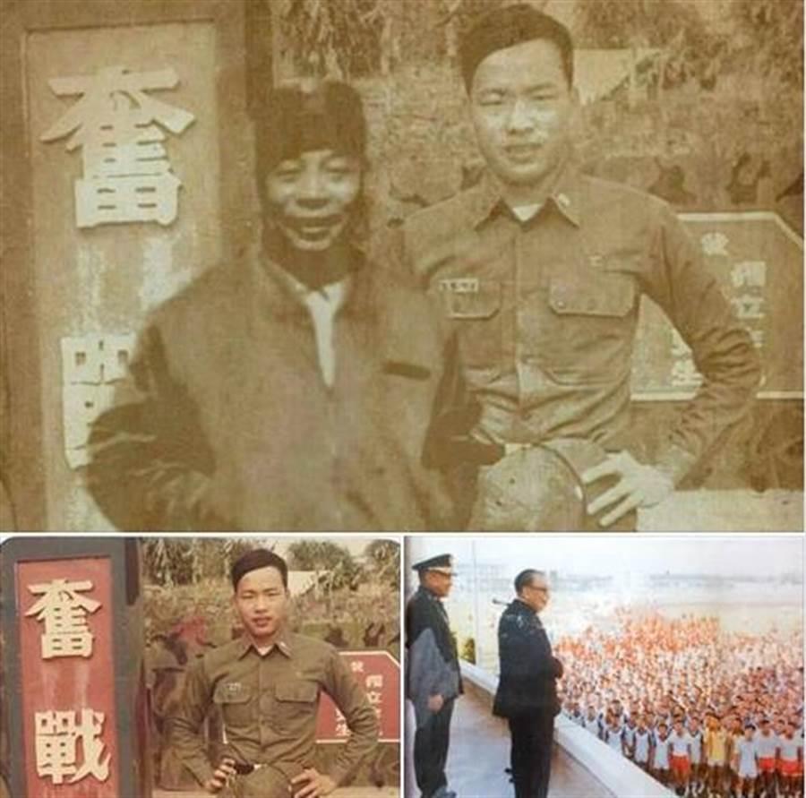 前警大教授葉毓蘭在LINE群組收到一張假照片,有人刻意合成韓國瑜和前總統蔣經國的合照。她做了初步搜證,希望韓國瑜立刻報案。(葉毓蘭臉書)