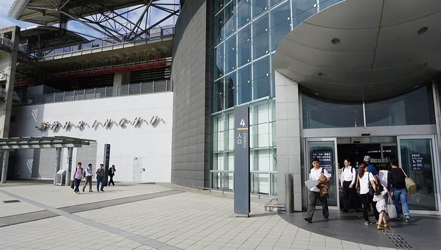 高鐵新竹站為區域帶進交通便利性。圖/詹宜芬攝