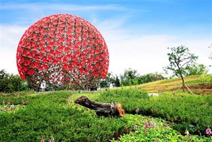 台中花博國際爭光,森林園區及烏日高鐵地景裝置入圍歐洲LILA景觀設計平台。(圖/台中市府提供)