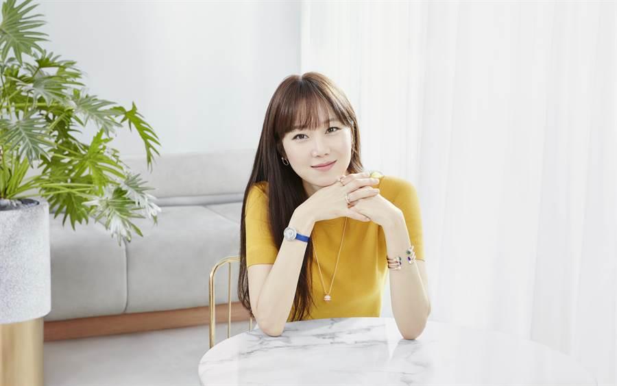 韓國電視劇女王孔曉振擔任伯爵(PIAGET)亞太區代言人。(PIAGET 提供)