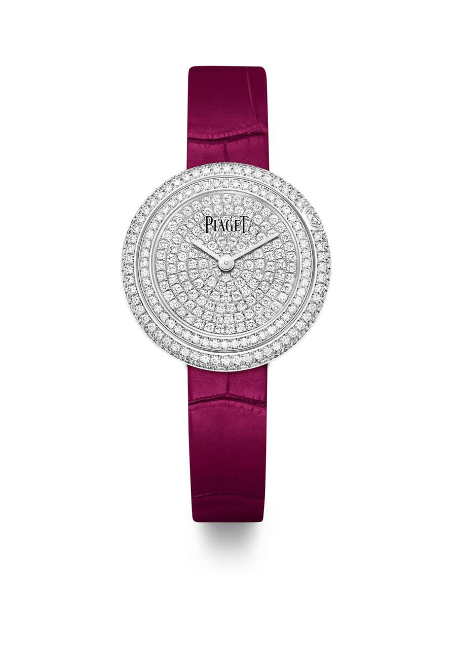 伯爵(PIAGET)Possession女用鑽表,29mm,94萬元。(PIAGET 提供)