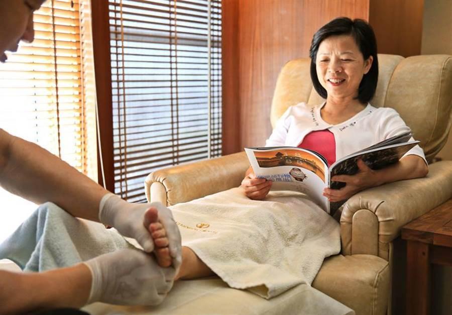 給媽咪貴婦級的享受,台中裕元花園酒店推「媽媽放鬆日」。圖:裕元花園酒店