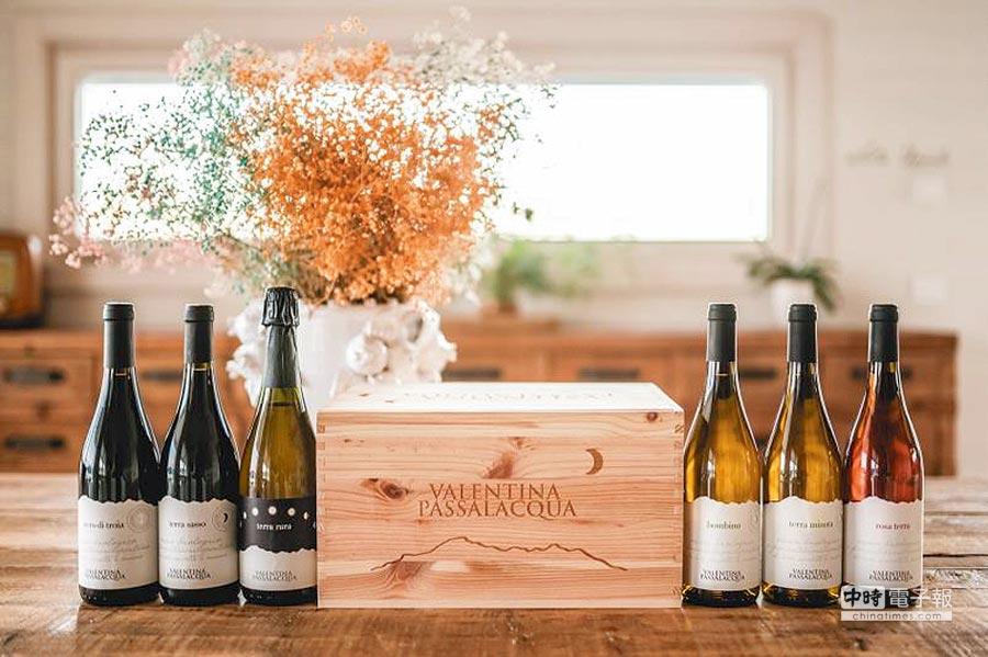 家族葡萄莊園,是純手工有機栽種釀製的優質好酒。圖/業者提供