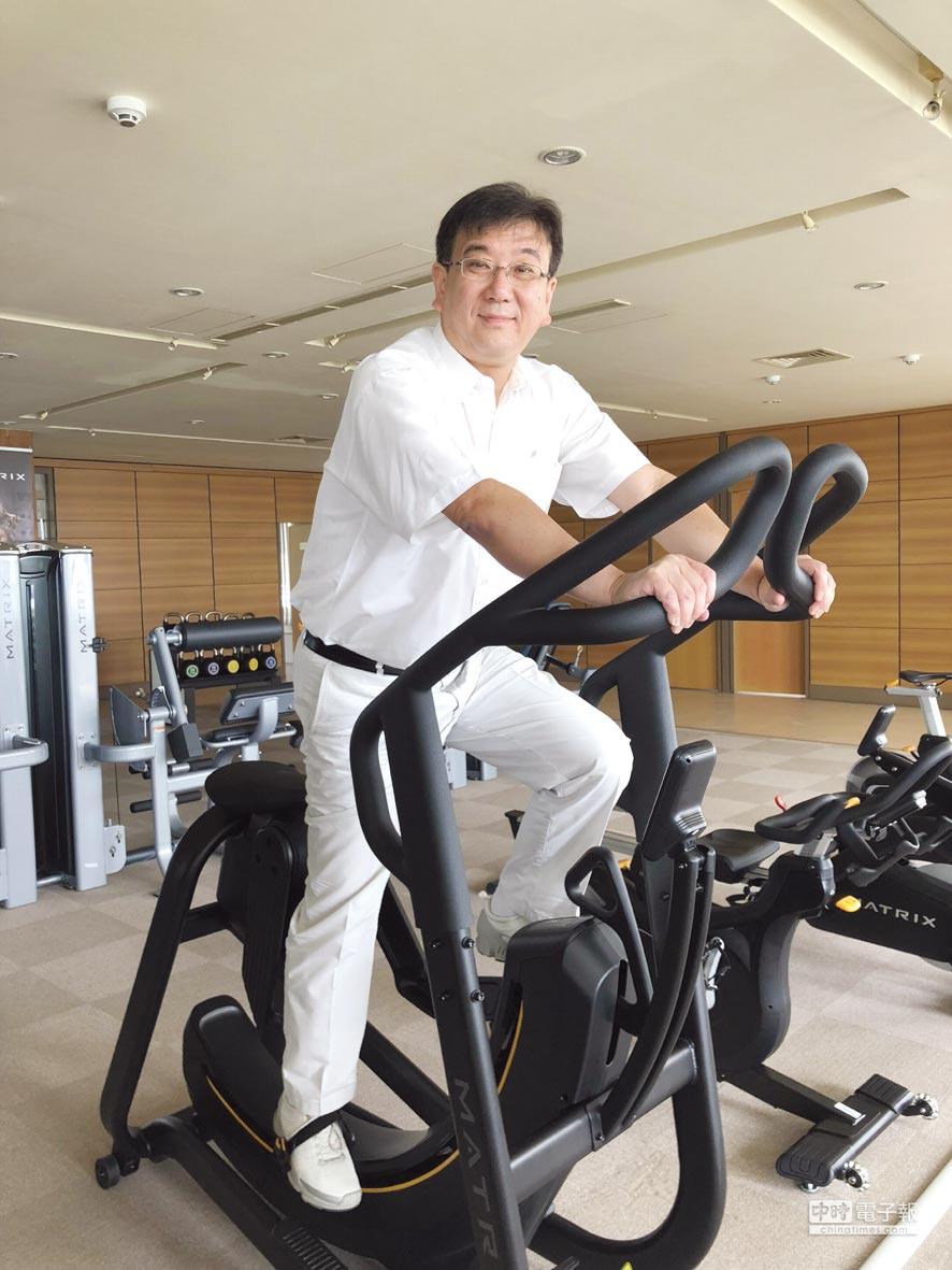 喬山總經理羅光廷透露,旗下北美工廠生產重量訓練器材與商用電動跑步機,都可以美國製造名義,參與美國政府與軍方的健身器材與重量訓練器材標案。圖/劉朱松