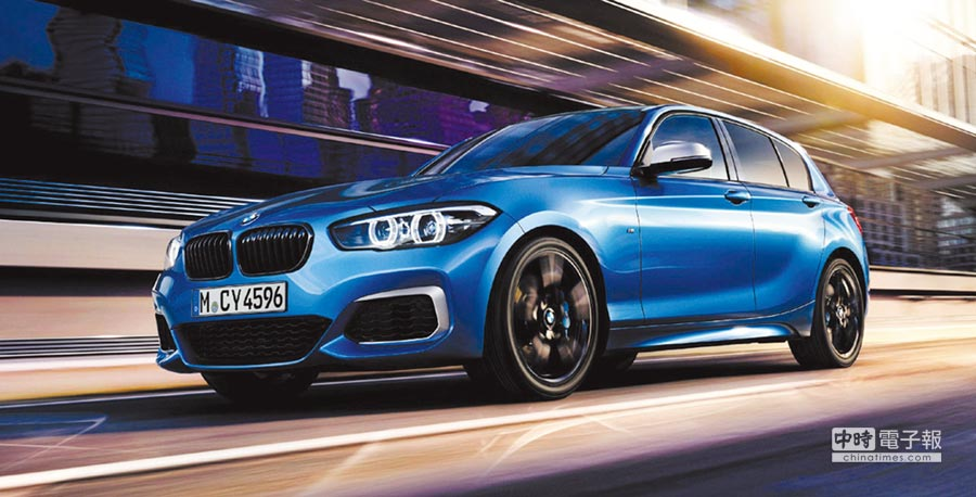 BMW 1系列Conquest Edition,全台限量150台,展現同級唯一後驅操控魅力。圖/汎德汽車提供