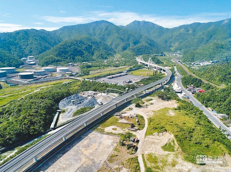 隨著蘇花改預計明年1月全線通車,北花客運也確定上路。(蘇花改工程處提供)