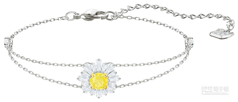 SWAROVSKI母親節主打Sunshine手鍊,4990元。(SWAROVSKI提供)