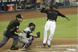 MLB》勇士報舊仇 偷襲馬林魚投手