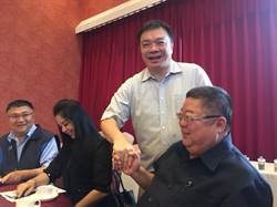 高思博挺朱立倫選總統 推大台南市政倡議聯盟