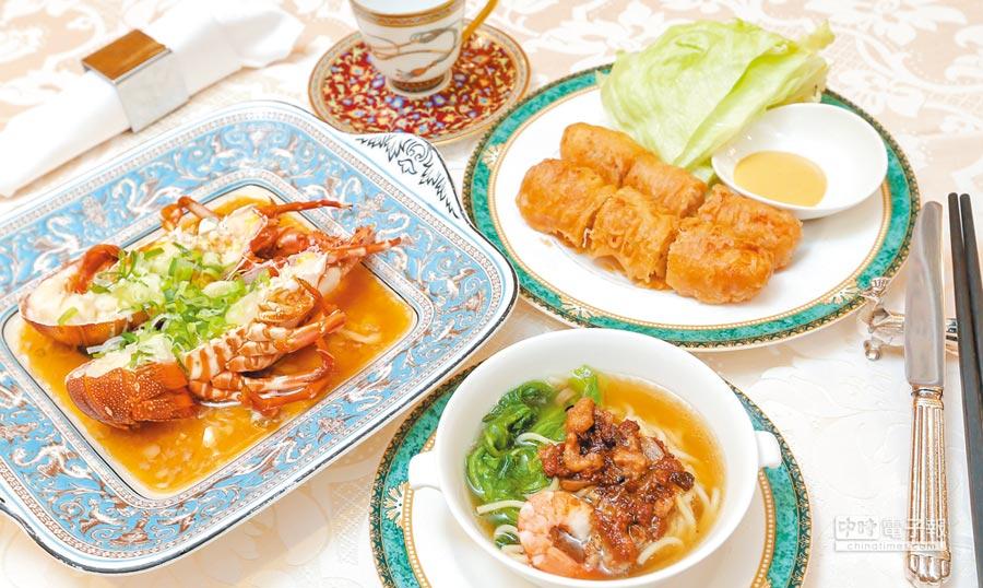 遵守道地烹調手法,加上優質服務,是助台南担仔麵拿下一星的關鍵。                      (盧禕祺攝)