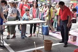 鶯歌區桐花祭活動內容豐富吸引數千民眾參與