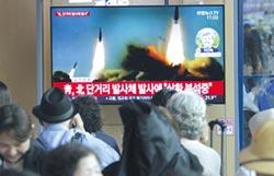 對美表達不滿 北韓發射短程發射體
