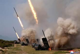 不是導彈 北韓試射長程多管火箭