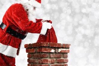 模仿聖誕老人 傻男卡27樓通風口