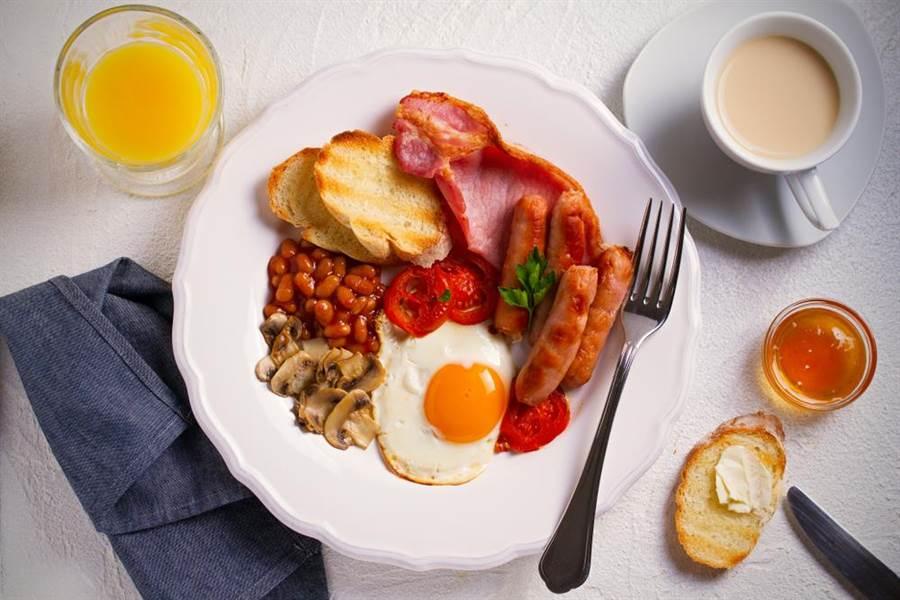 專家曝超肥早餐TOP4,他戒掉這杯甩肉5公斤。早餐示意圖。(達志影像)