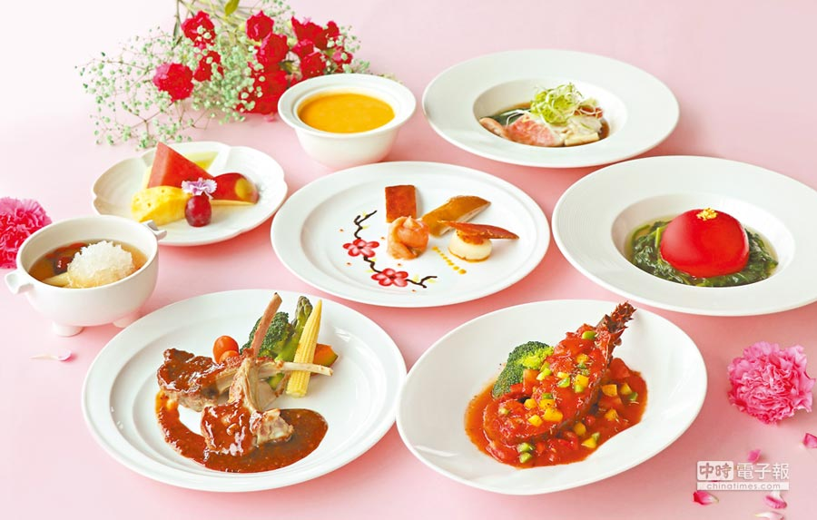 萬麗軒中餐廳 2019母親節「海陸極品」饗宴。