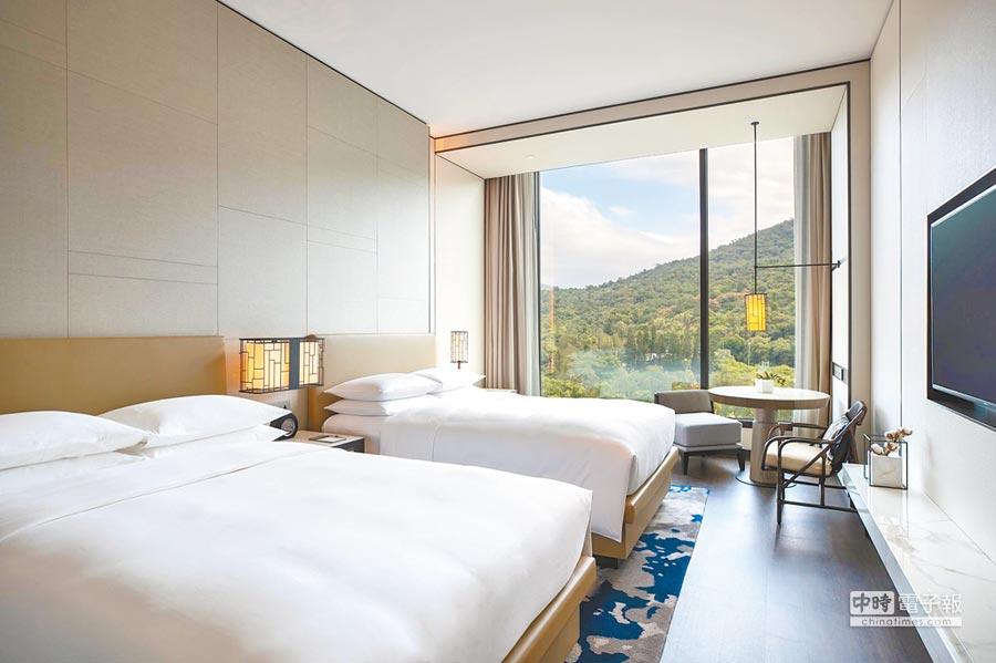台北士林萬麗酒店士林廚房提供自助式早餐。
