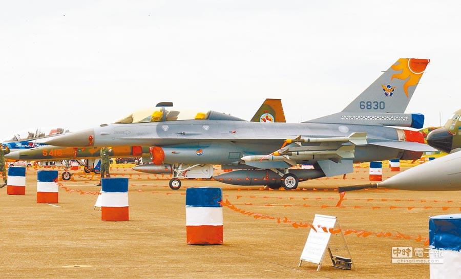 美國國防部亞太助理部長薛瑞福表示,台灣受威脅美國會適當支援。圖為美國對台軍售的F-16戰機。(本報系資料照片)