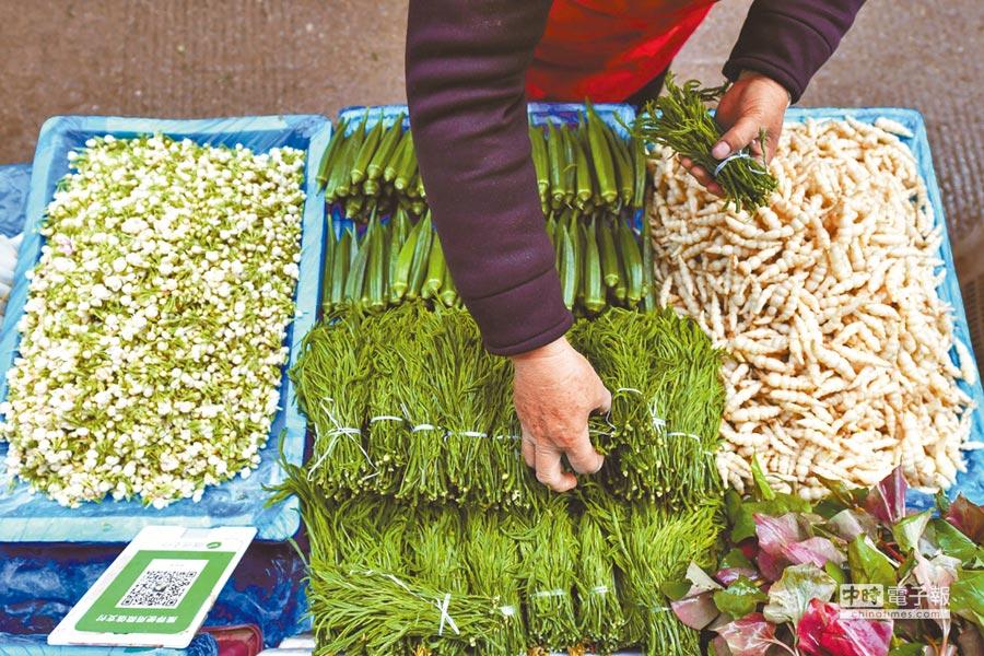 春季常吃蔬果可養生。(中新社資料照片)