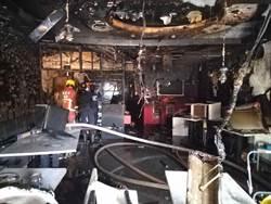 新莊早餐店氣爆 50歲老闆2度燒燙傷