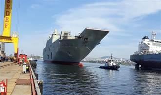 土耳其新航母低調下水 艦載機遙遙無期