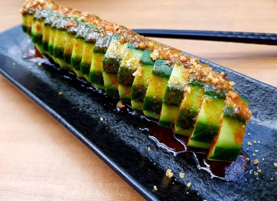 2个月甩11kg 日本食神靠一根小黄瓜减肥。(达志)