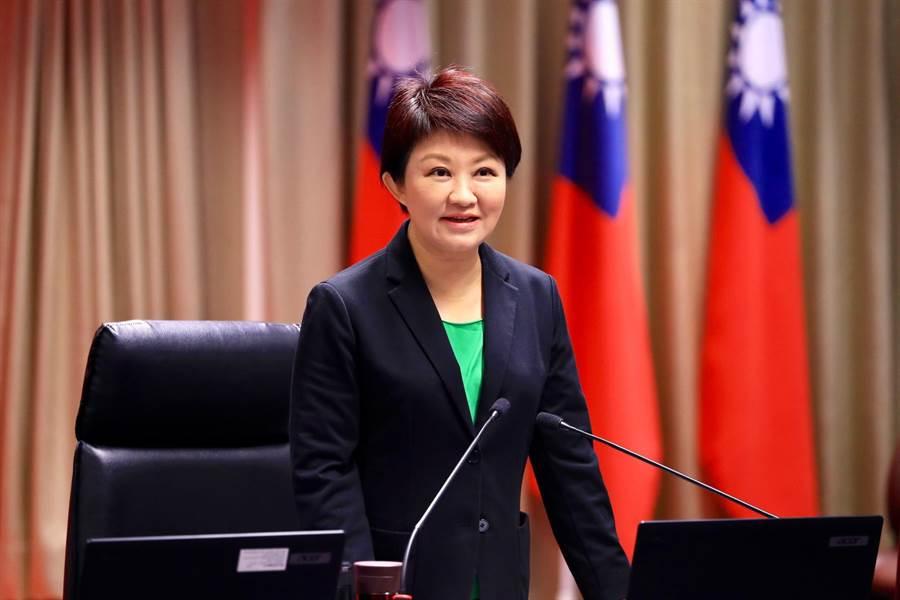 台中市長盧秀燕表示,警察對夜店的強勢作為奏效,市府建構安全、安寧、安心的城市。(盧金足攝)
