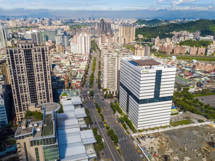 科技大廠陸續進駐新店央北重劃區。(圖/業者提供)
