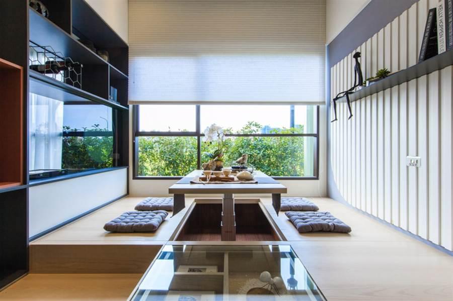 本案建材無毒、無甲醛,加裝換氣新風機及防霾紗窗。(圖/業者提供)