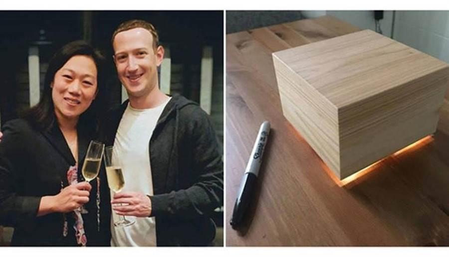 臉書創辦人祖克柏親手打造睡眠盒,幫助愛妻更好睡。(圖/祖克柏IG/合成)