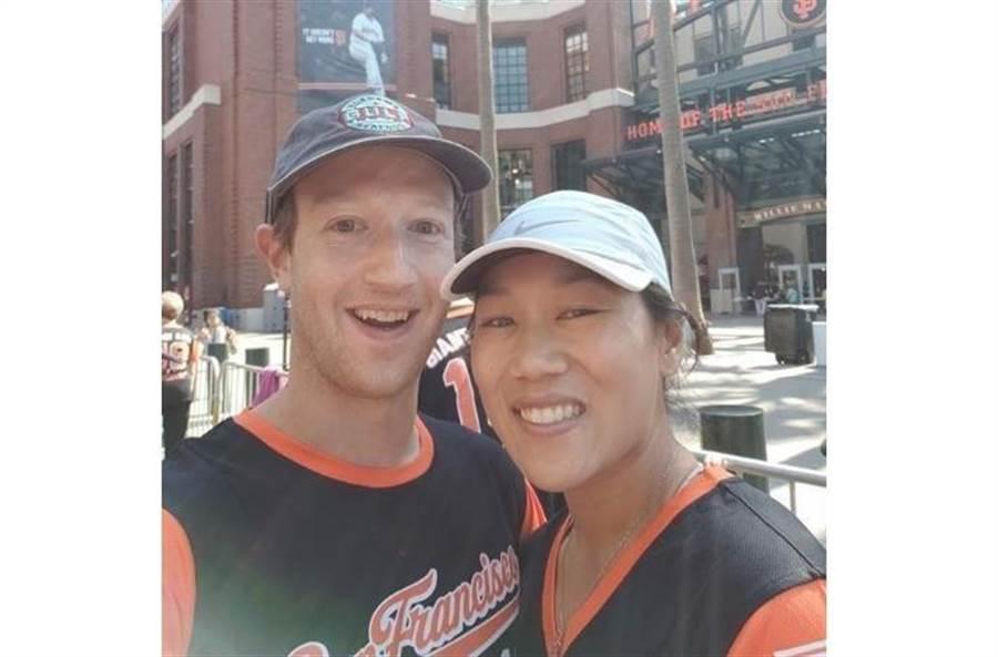 祖克柏與老婆普莉西拉都就讀哈佛大學,學生時代就認識交往。圖片來源:祖克柏IG