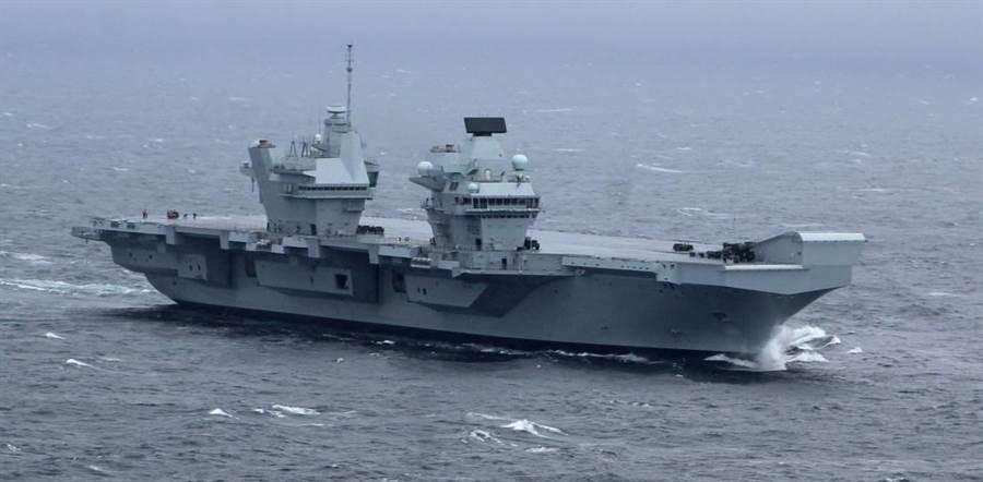 印度希望取得委託製造的伊麗莎白級航艦。(圖/英國皇家海軍)