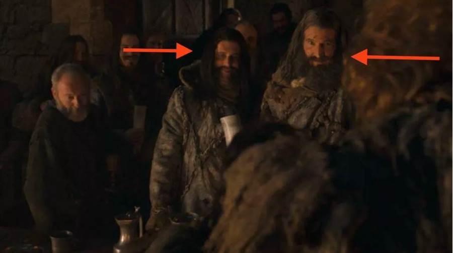 權遊第8季第3集真正的隱藏彩蛋在這,兩名編劇客串演出野人。(圖/HBO)