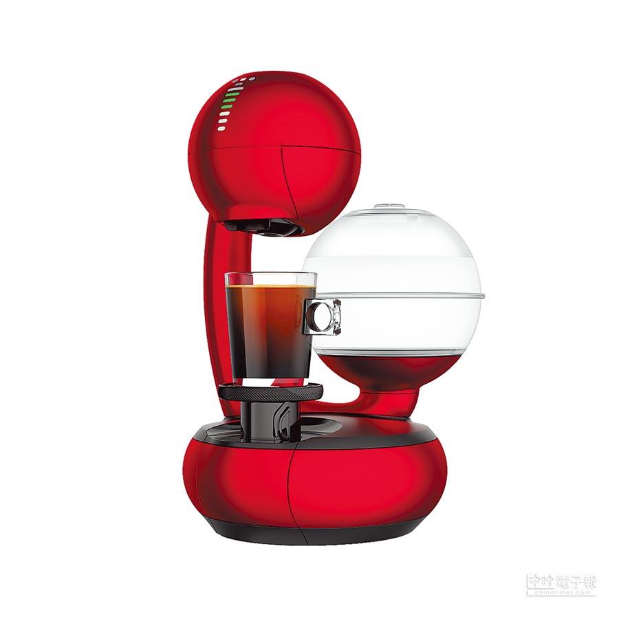 雀巢推出31日前任選3盒膠囊,指定機種現折600元,買ESPERTA更可獲由知名芬蘭設計的獨家膠囊展示架。(雀巢提供)