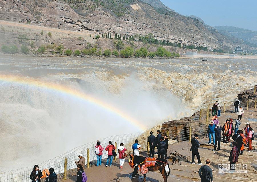晉陝豫黃河金三角地區將加強區域高等學校建設。圖為山西省黃河壺口瀑布景區。(新華社資料照片)
