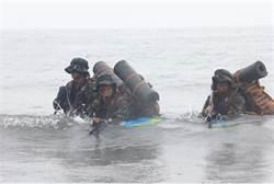 邁入克難週 兩棲偵搜班訓練更嚴苛