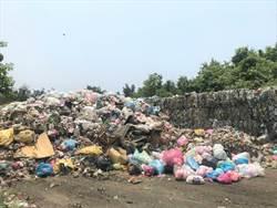 湖口堆置3000噸垃圾 議員盼盡速處理