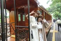 來嘉義市春遊!「木曜4超玩」主持群搭檜木小火車拍Vlog