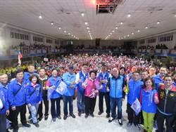 「韓國瑜選總統!張智倫選立委!」中和逾3000人相挺