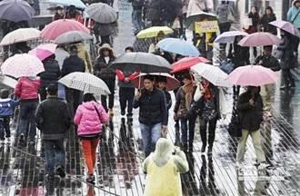 北北基5縣市大雨特報 氣溫瞬降10度