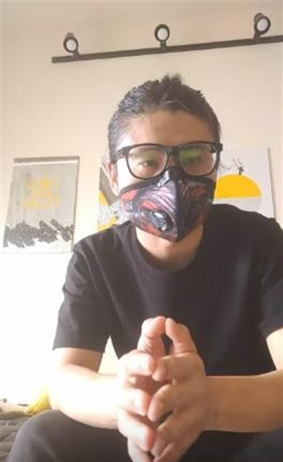 YouTuber教授鼠鼠透過影片自白自己渣男惡行。(翻攝自youtube頻道《教授鼠鼠》)
