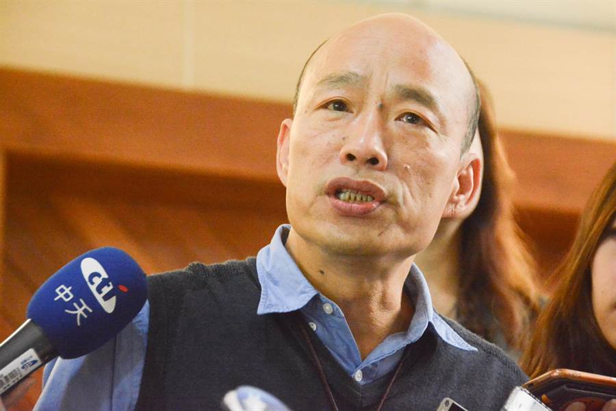 高雄市長韓國瑜回應強調,自貿區的重點在管理,但中央民進黨政府一直只針對單點批判攻擊。(林宏聰攝)