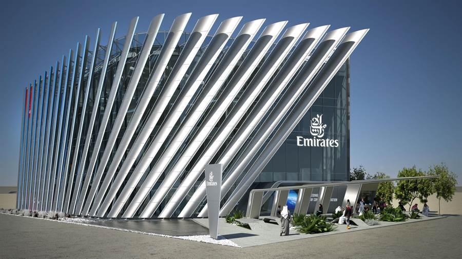 杜拜世博會阿聯酋航空場館設計正式曝光。圖:業者提供