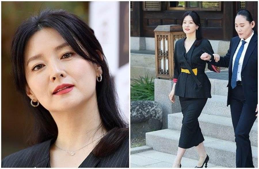 李英愛今日出席活動,臉上細紋絲毫不影響她的美貌。(取自韓網)
