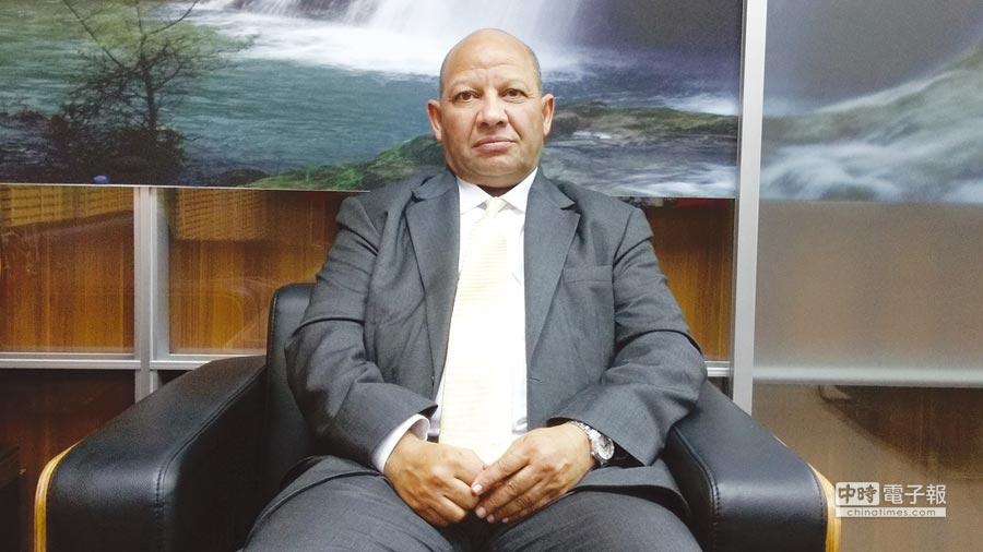 阿曼王國駐華商務辦事處處長蘇利門‧阿默蓋瑞。圖/陳昌博