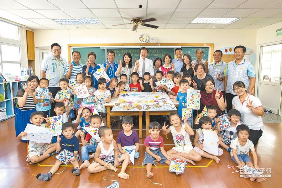 新竹市公幼及非營利幼兒園規畫二階段登記。(徐養齡翻攝)