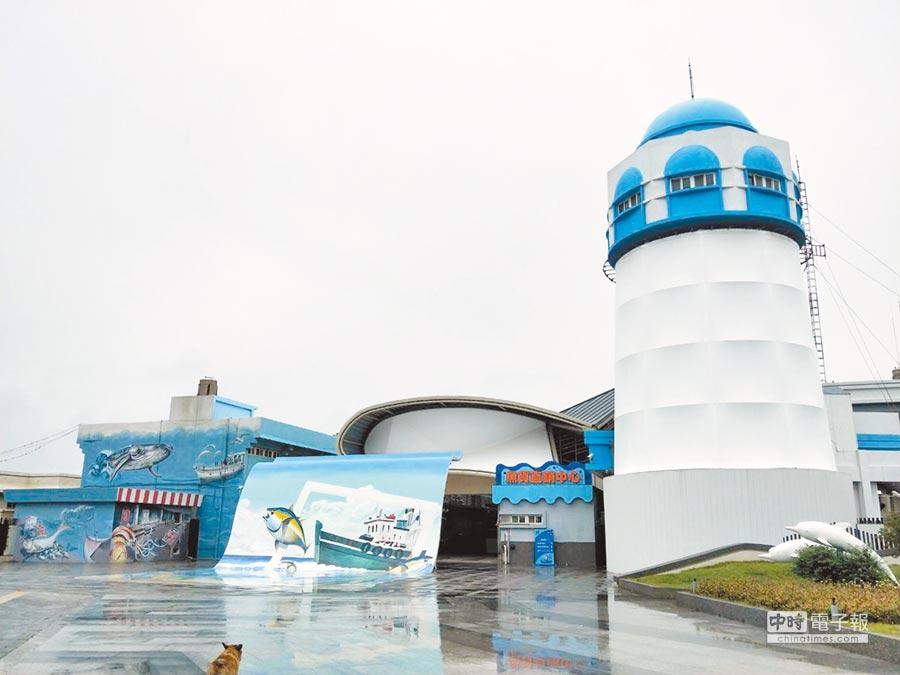 台中梧棲漁港進行整體發展計劃積極轉型中,預計投入10億元分3期進行10年改造。(陳淑娥攝)